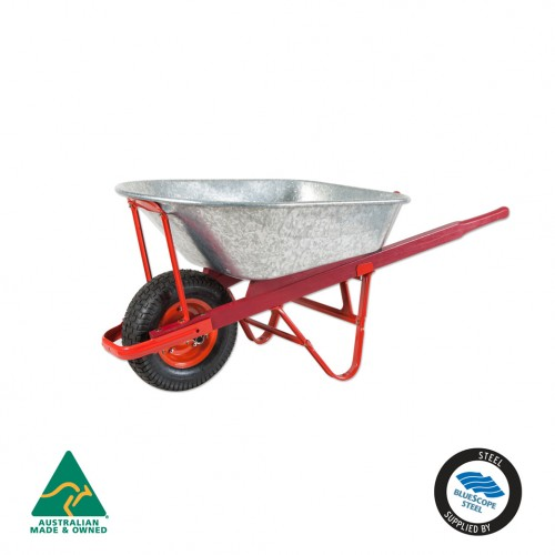 Daytek Contractor Galv Wheelbarrow 100L