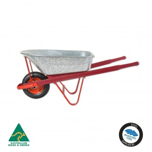 Tradesman Galv Wheelbarrow 100L